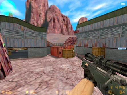 Скриншот CS 1.6 с ботами #5
