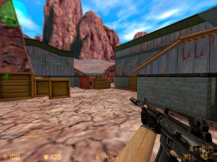 Скриншот CS 1.6 через торрент #2