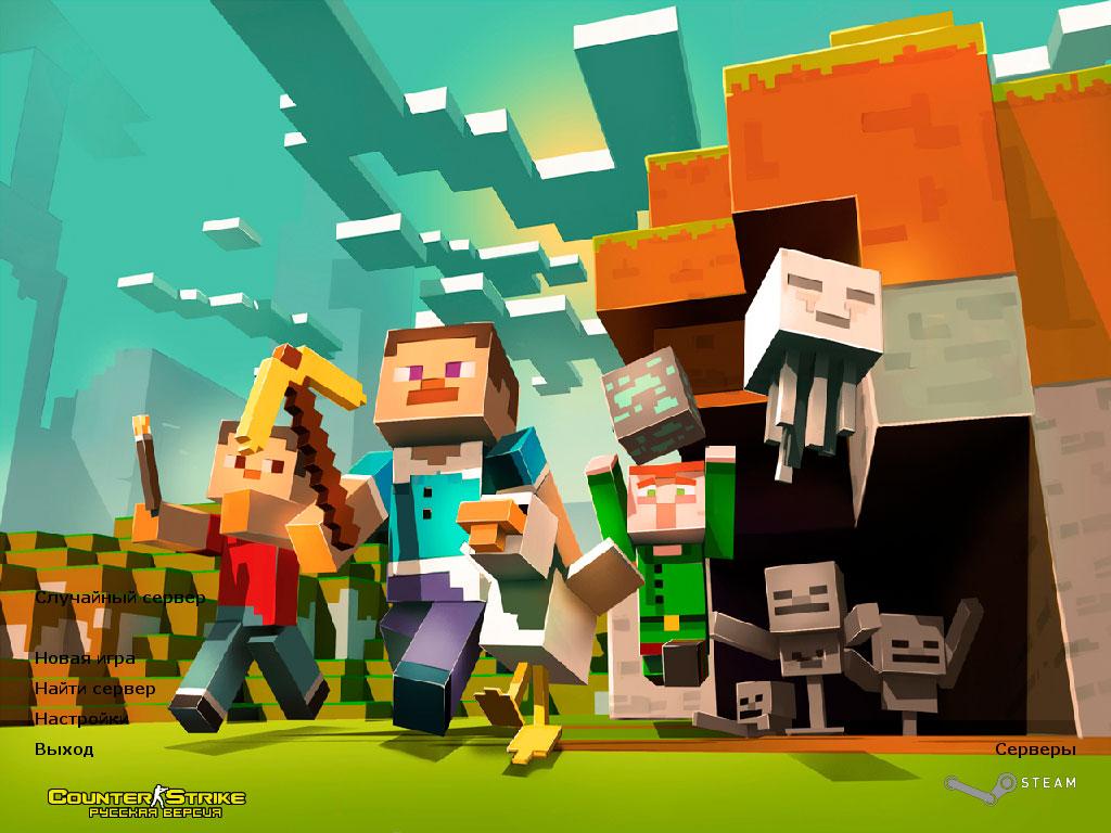 Скачать CS 1.6 Minecraft