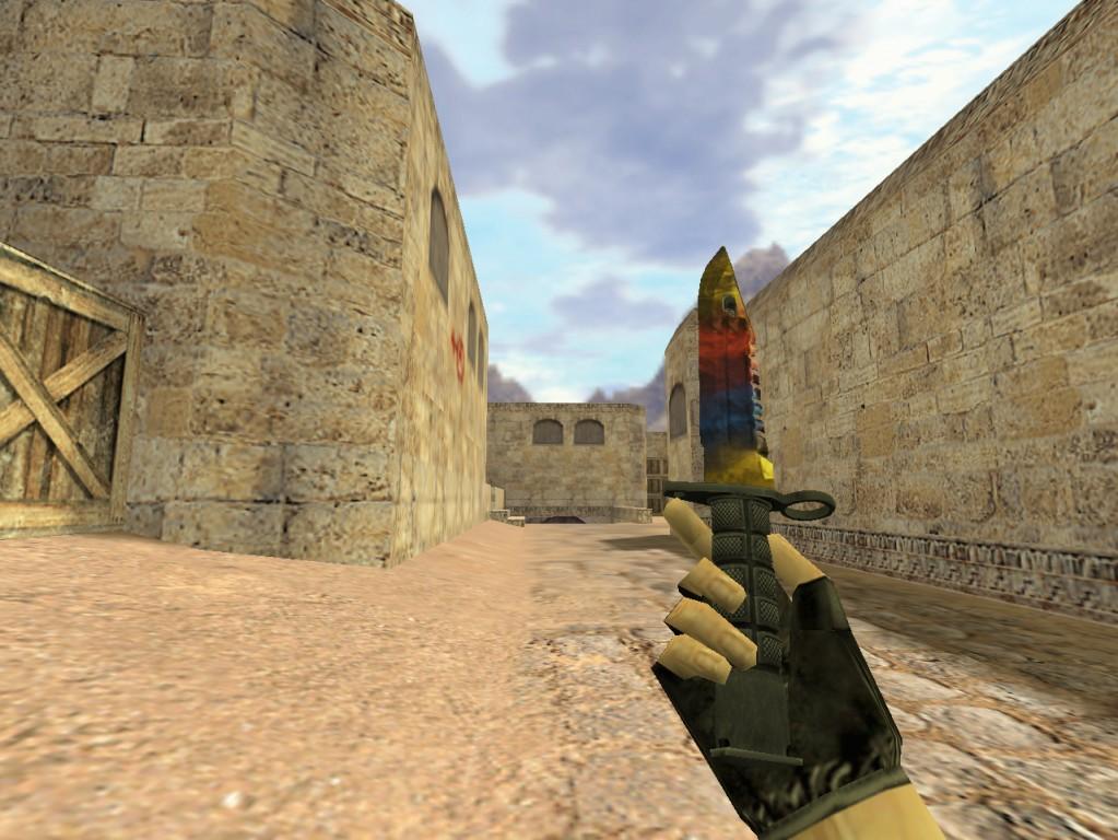 Скачать Штык-нож М9 Мраморный Градиент
