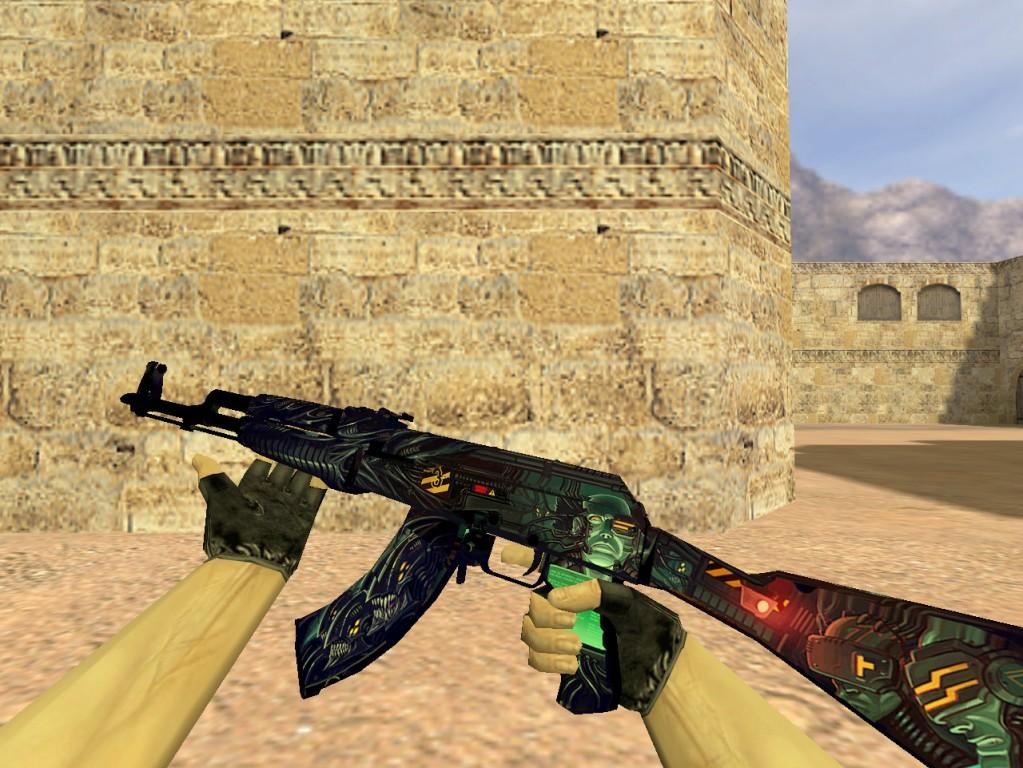 Скачать АК-47 Неизвестность для CS 1.6