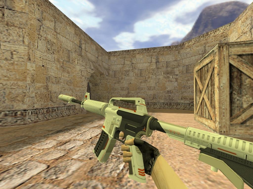 Скачать М4А1 Механо-пушка