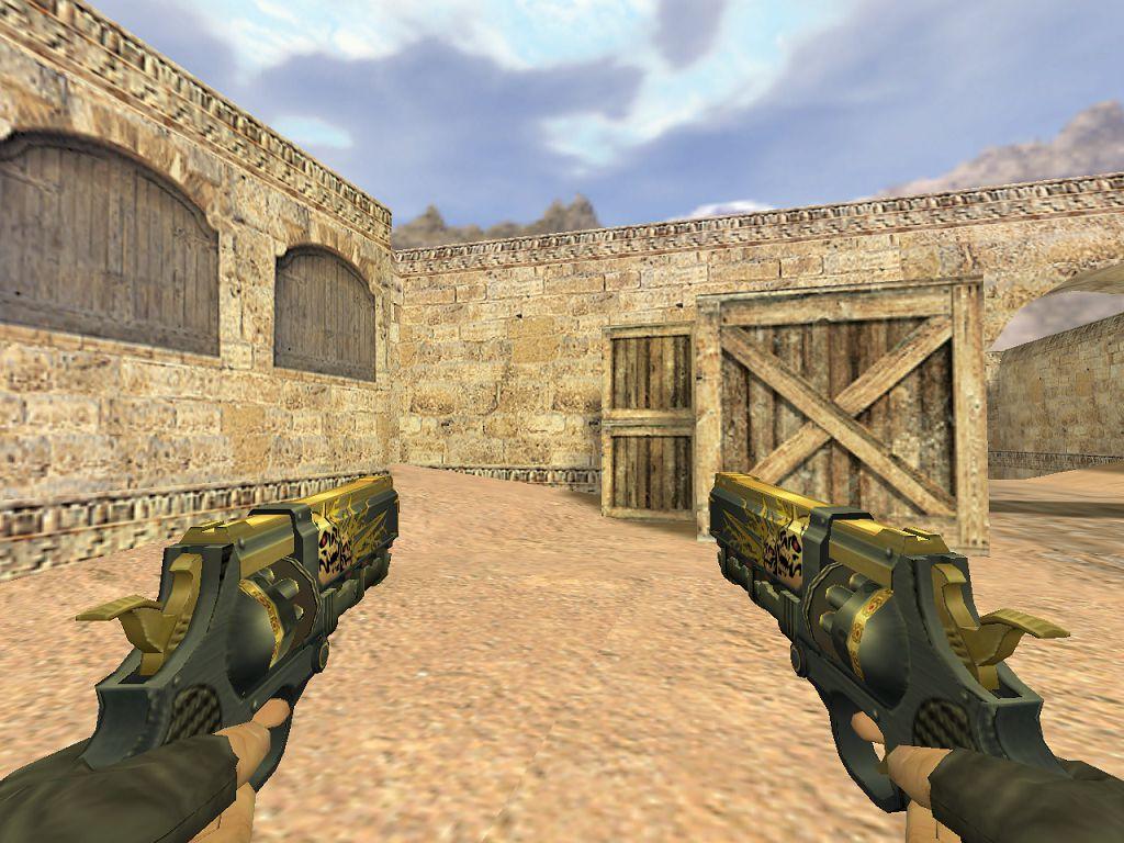 Скачать Револьверы Футуро для CS 1.6