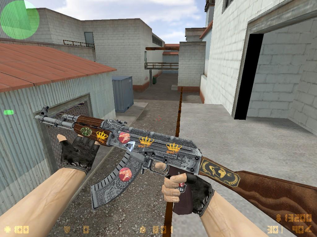 Скачать АК-47 Картель с наклейками