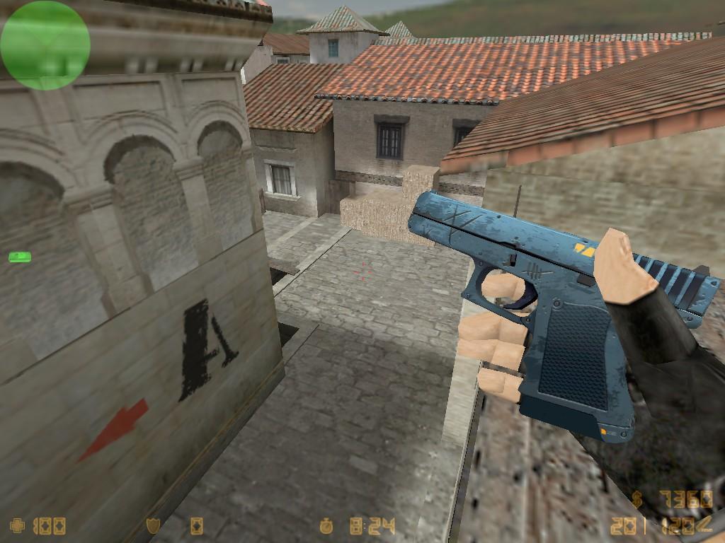 Скачать Glock-18 Пришелец