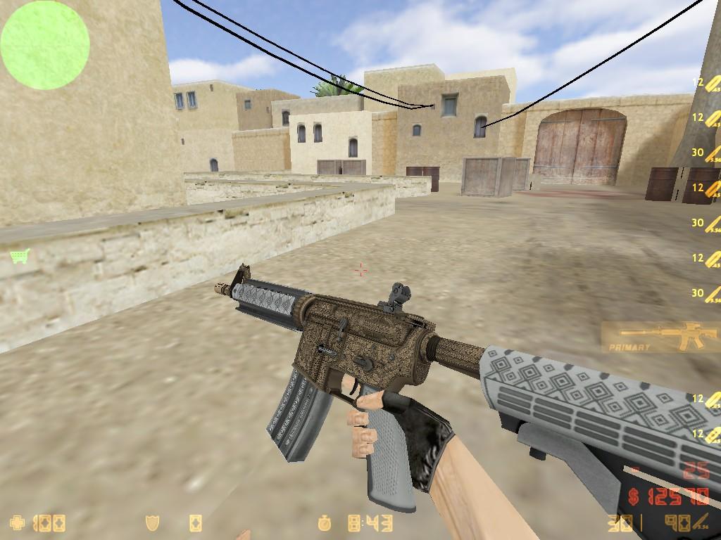 Скачать M4A4 Преданный паладин