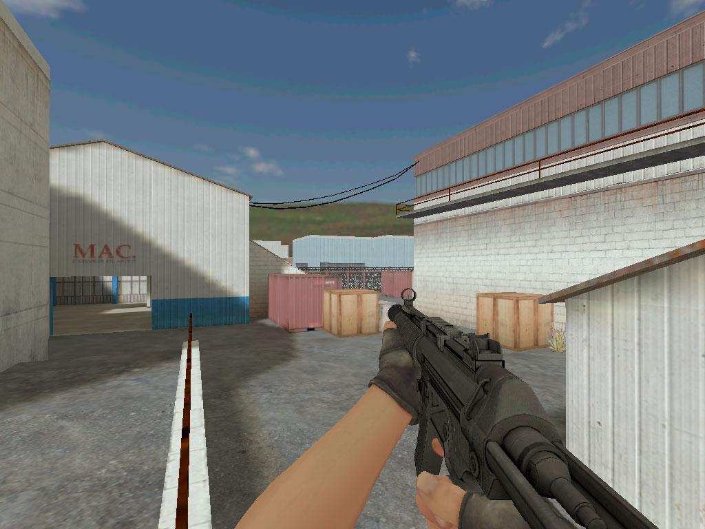 Скачать MP5-SD из CS GO