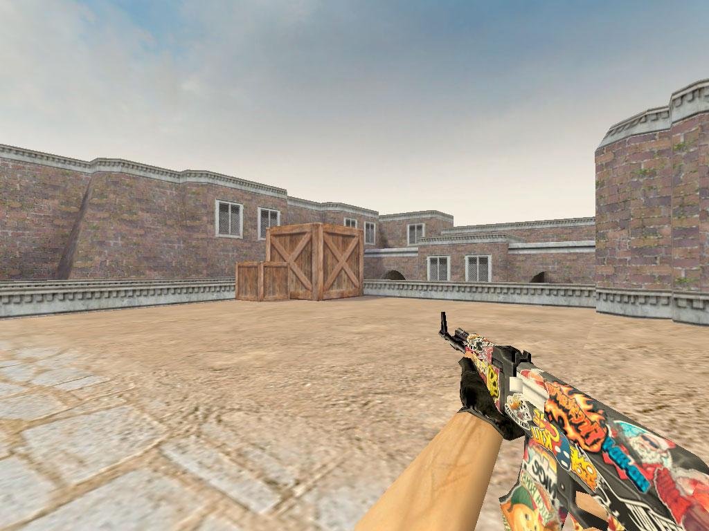 Скачать AK-47 Стикер