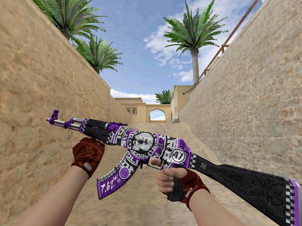 Скачать AK-47 Фиолетовое разрушение