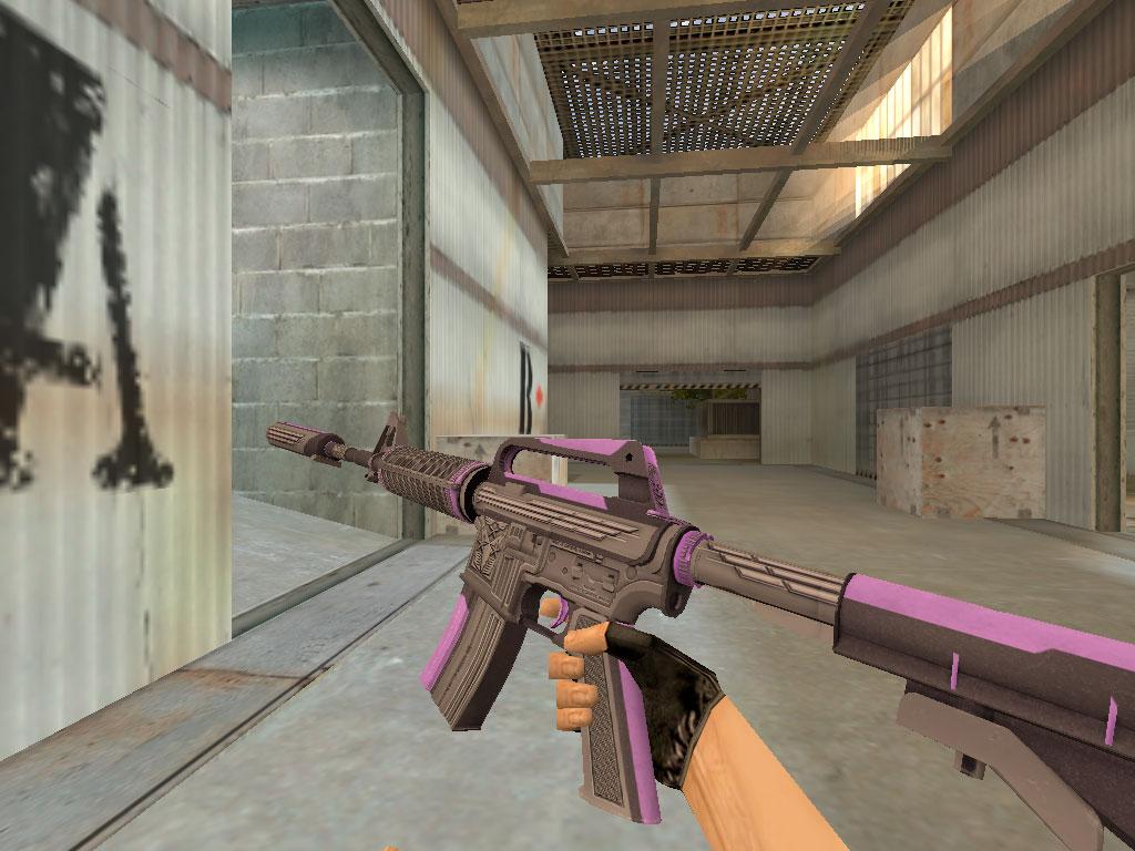 Скачать M4A1-S Громовой фиолет