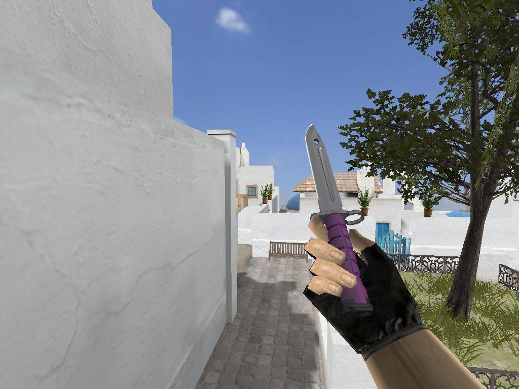 Скачать Штык-нож Ультрафиолет