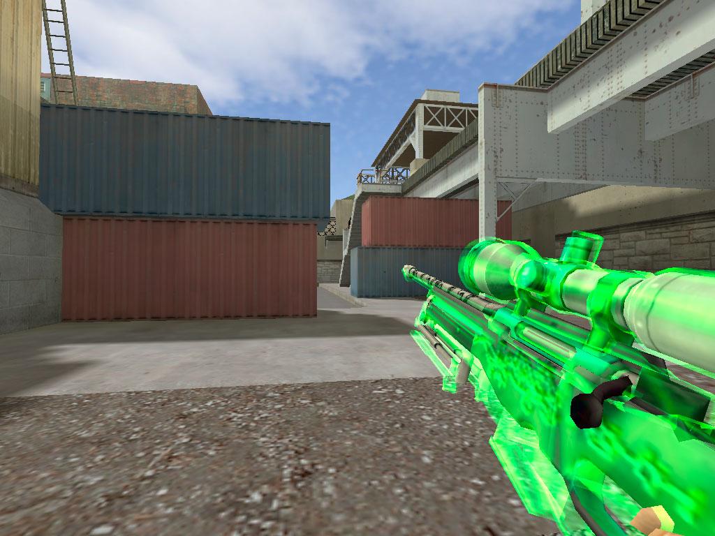 Скачать AWP Зелёное стекло