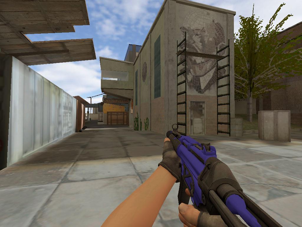 Скачать MP5-SD Сапфир для CS 1.6