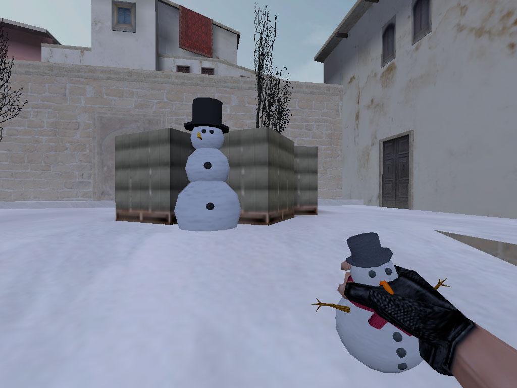 Скачать Гранаты Снеговик