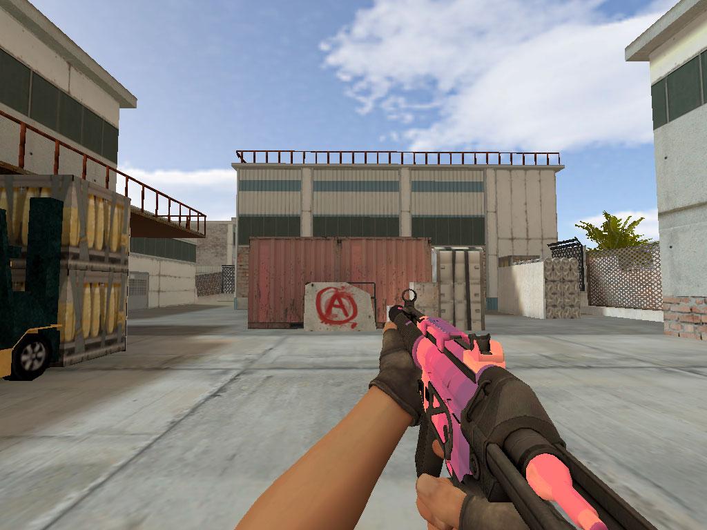 Скачать MP5-SD Малиновый