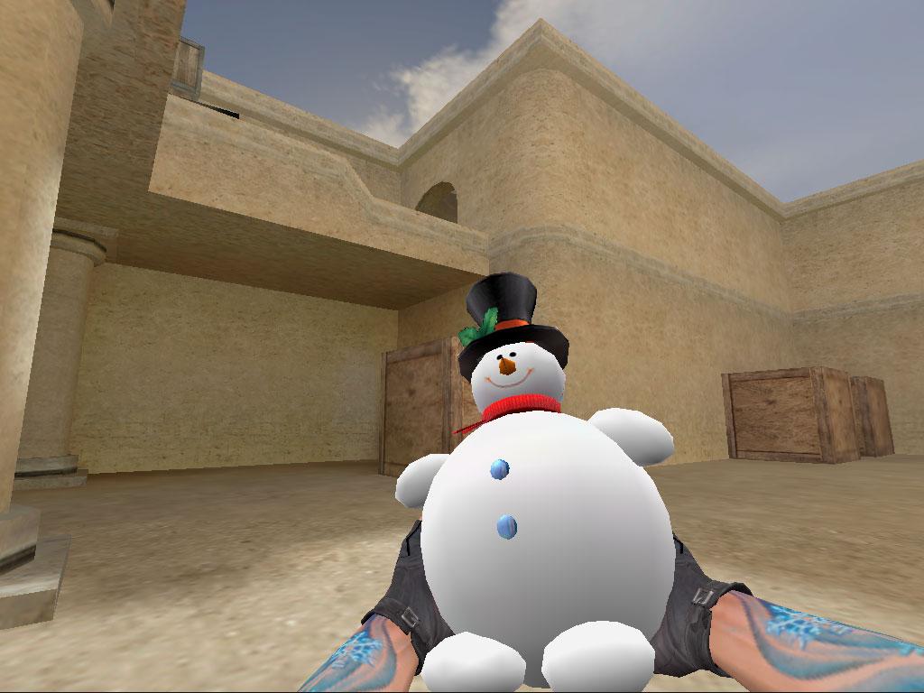 Скачать Граната Снеговик