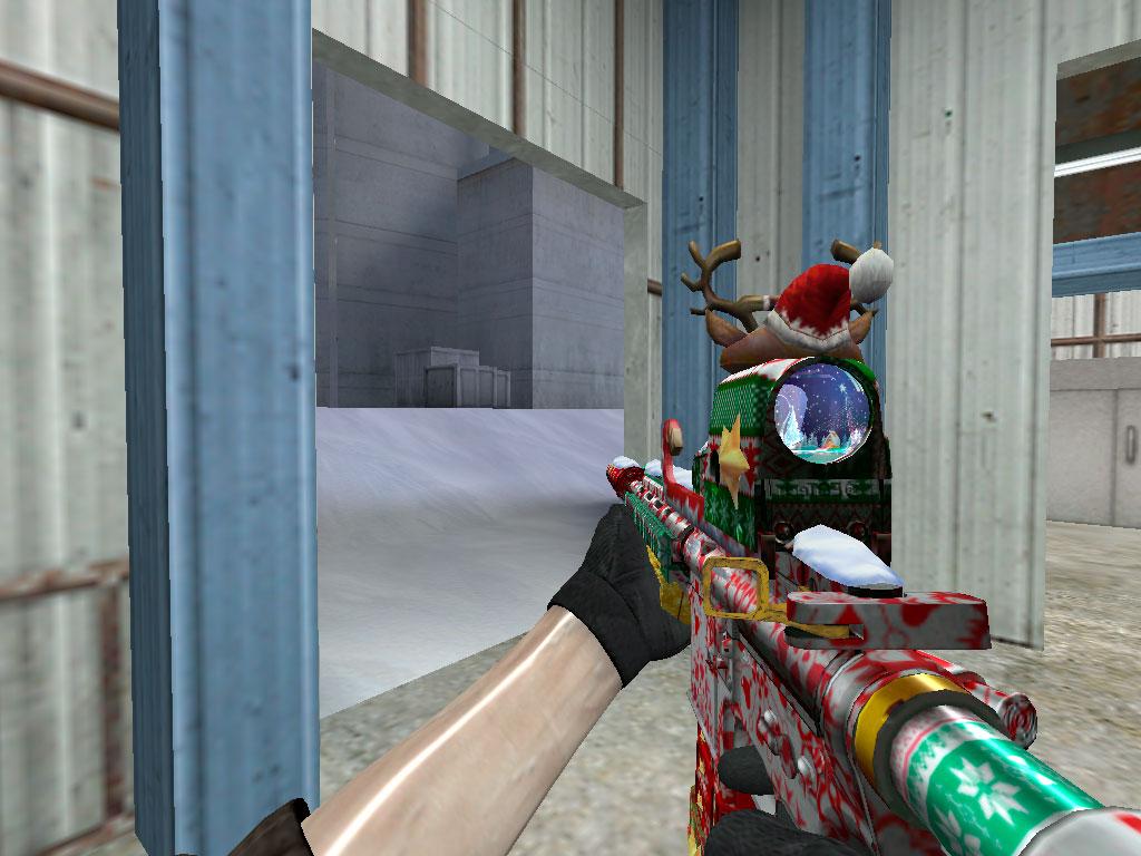 Скачать HK-416 Счастливого Рождества