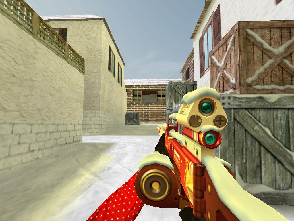 Скачать Новогодний пулемёт