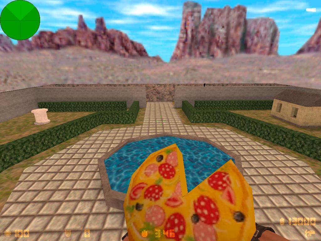Скачать Граната Пицца пепперони