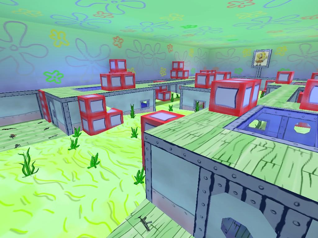 Скачать fy_spongebob