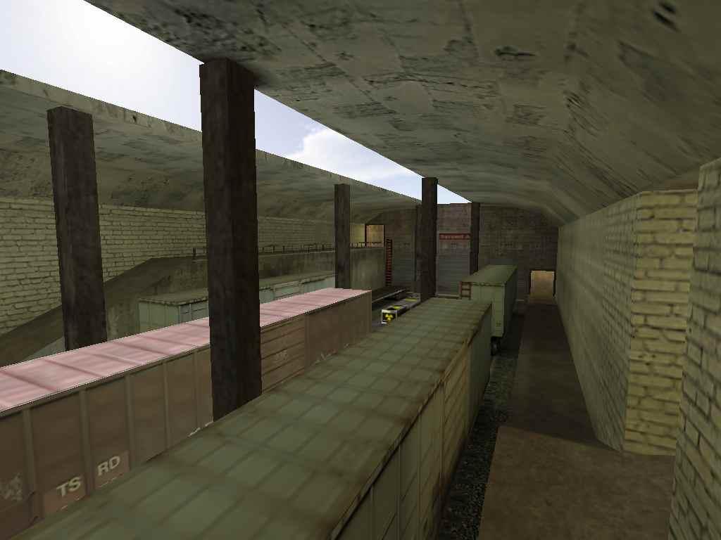 Скачать de_train32 для CS 1.6