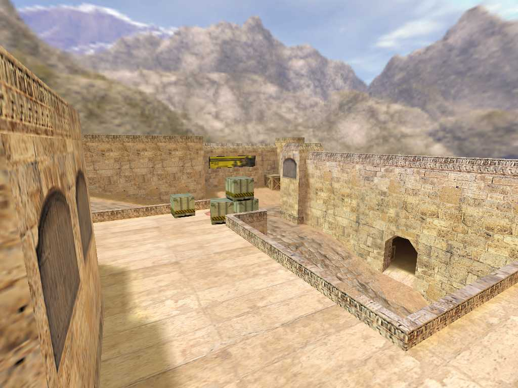 Скачать de_dust2_2x2_long для CS 1.6
