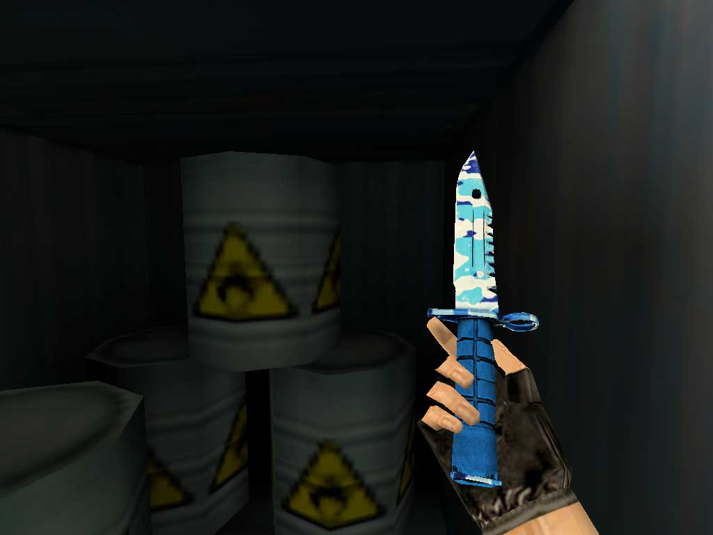 Скачать Штык-нож M9 Светлая вода