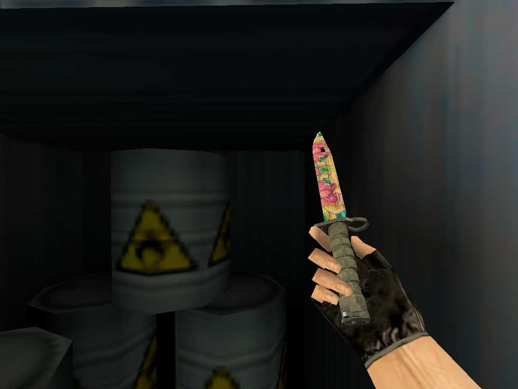 Скачать Штык-нож M9 Натлозе