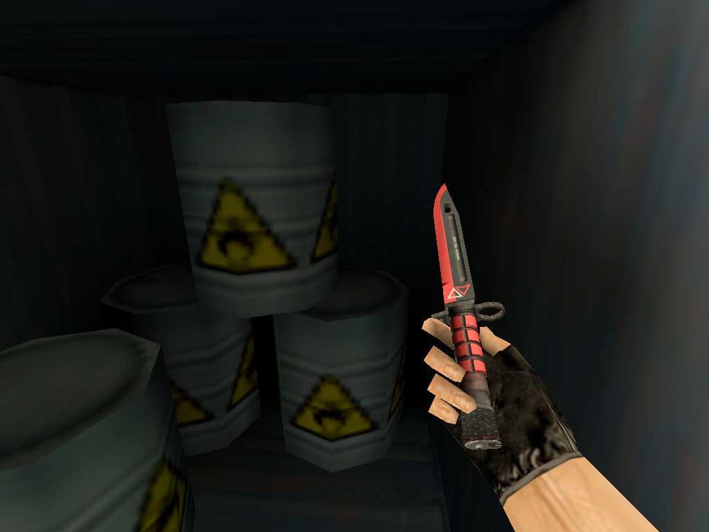 Скачать Штык-нож M9 ЭкоТек