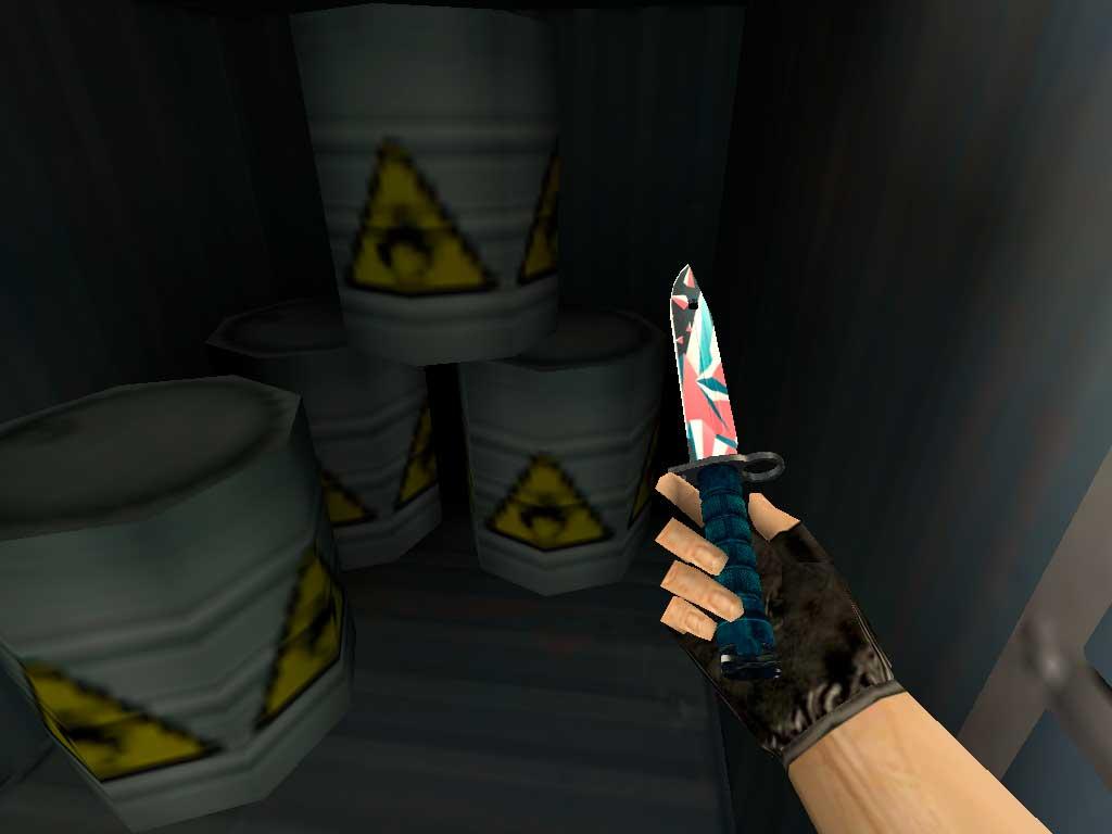 Скачать Штык-нож M9 Буйство красок