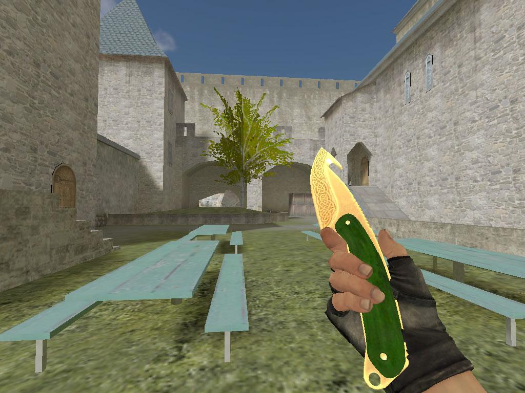 Скачать Нож с лезвием-крюком Легенды