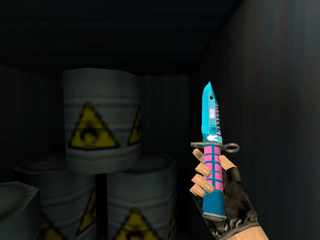 Скачать Штык-нож M9 Дива