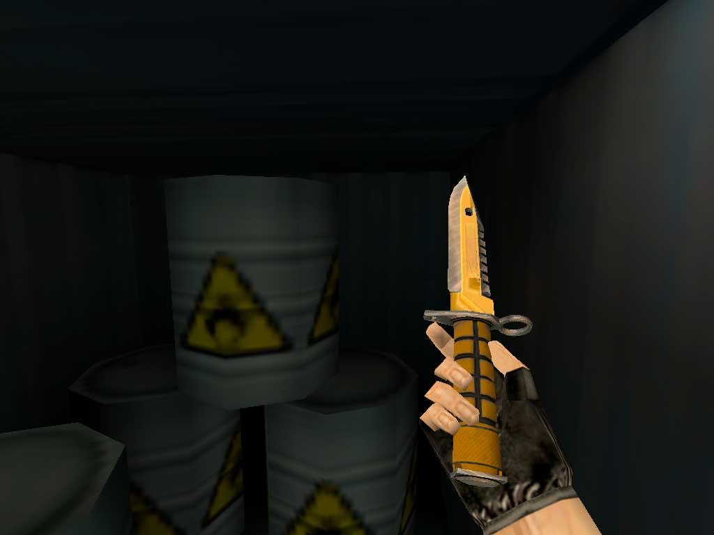 Скачать Штык-нож M9 Мастер