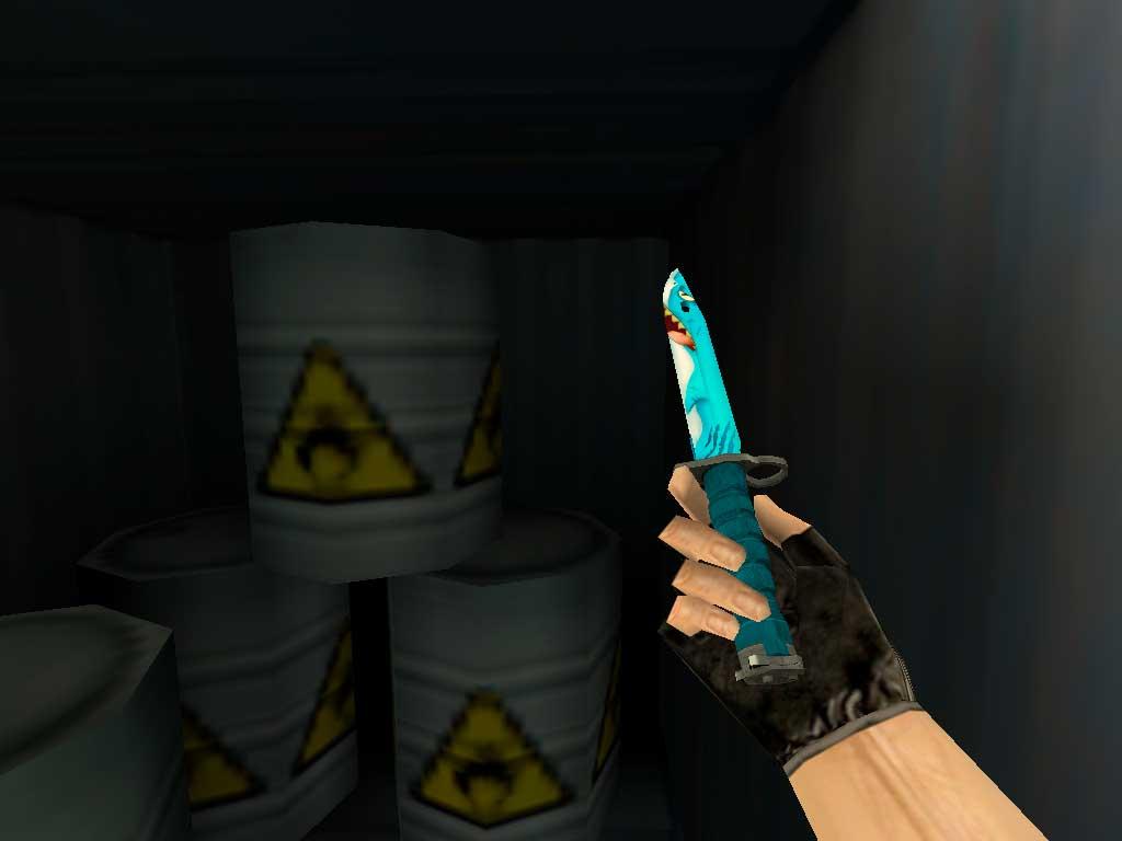 Скачать Штык-нож M9 Акула