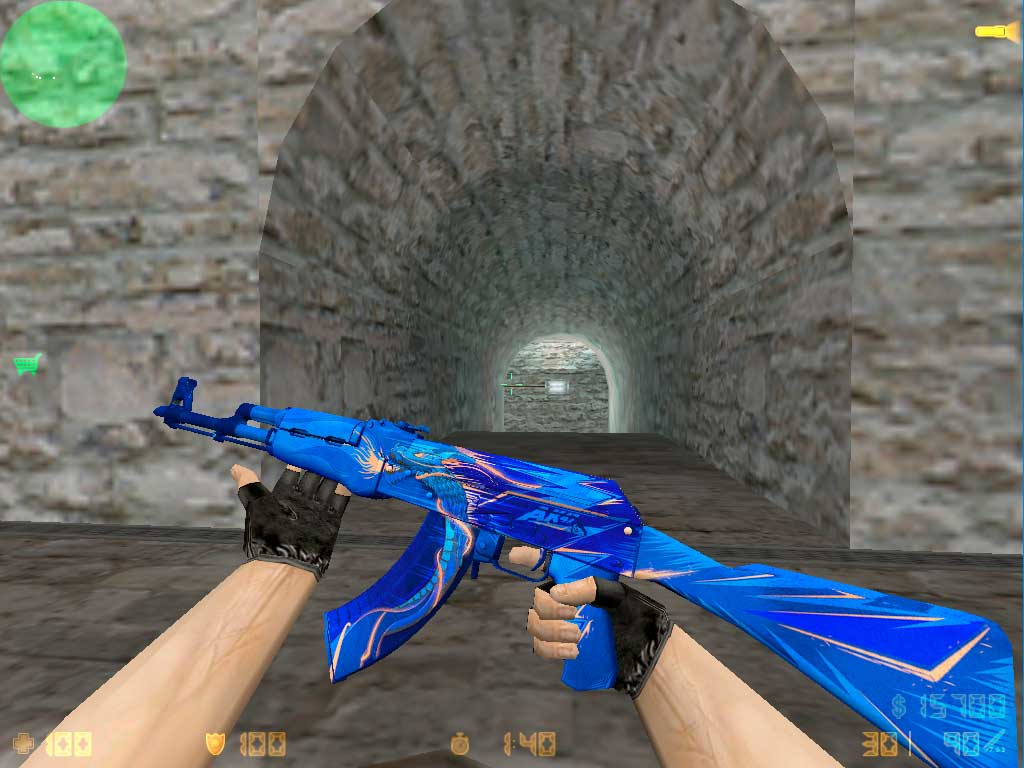 Скачать AK-47 Drakestorm для CS 1.6