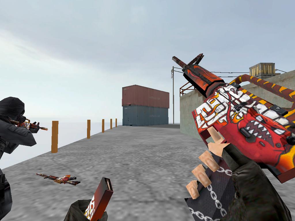 Скачать M4A1 Адское пламя