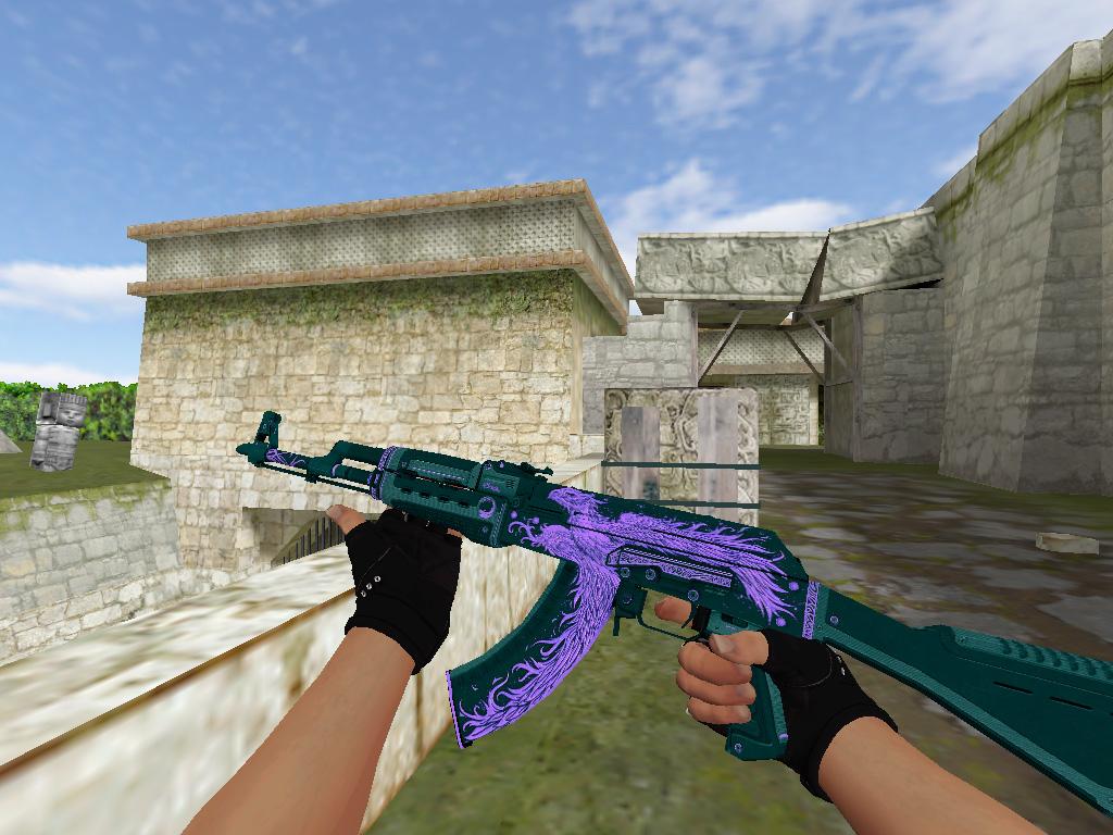 Скачать AK-47 Phoenix Rise Purple