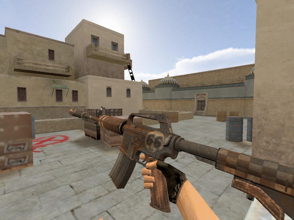 Скачать M4A1-S 66 Gun