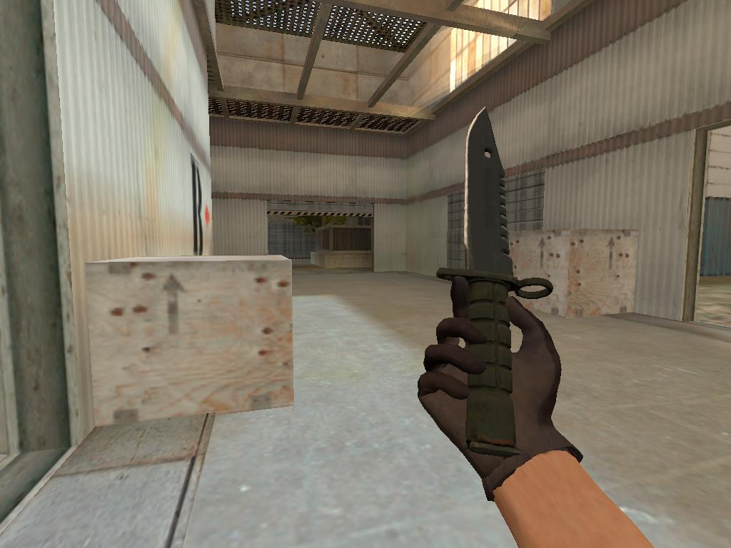 Скачать Штык-нож M9 Ночь