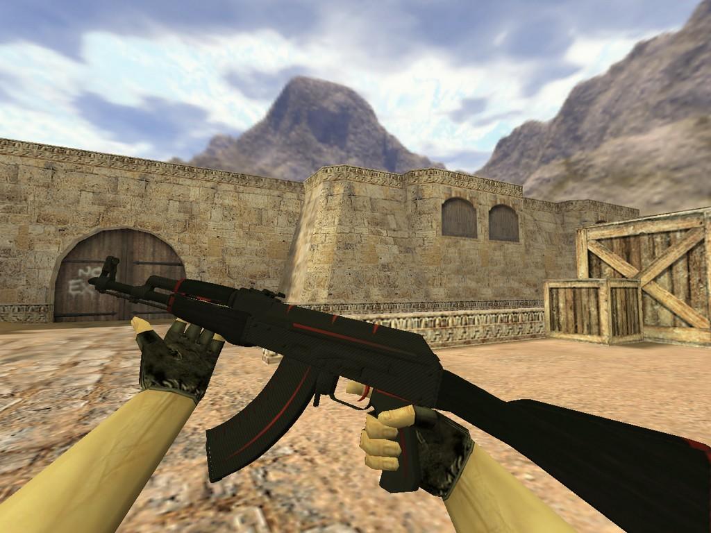Скачать АК-47 Красная линия