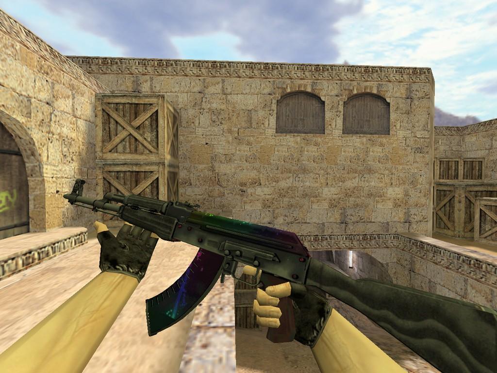 Скачать АК-47 Неоновый туман