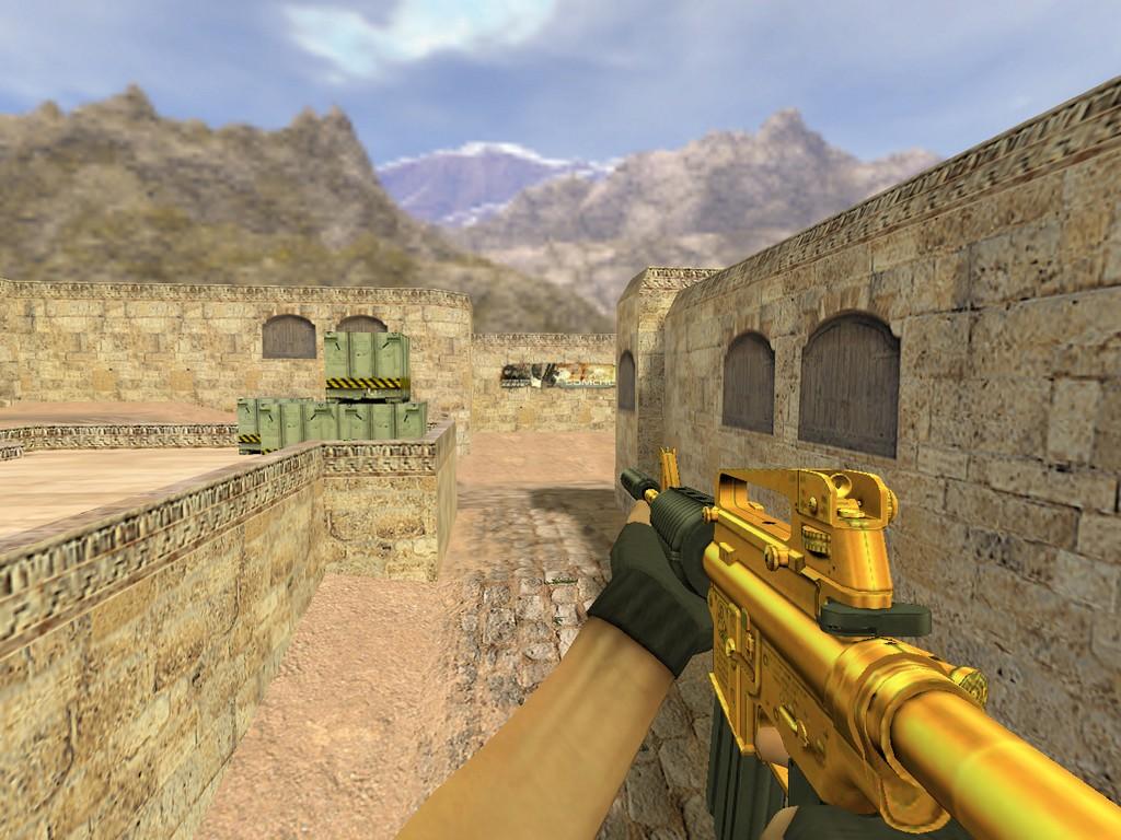 Скачать М4А1 Золотой