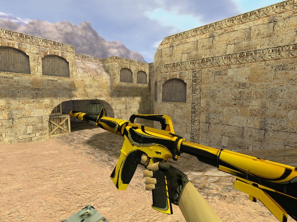 Скачать M4A1 Желтый жакет