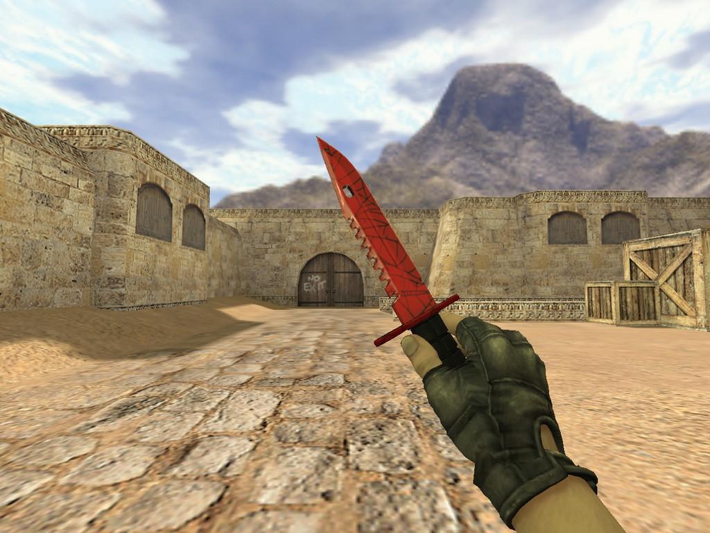 Скачать Штык-нож М9 Кровавая паутина