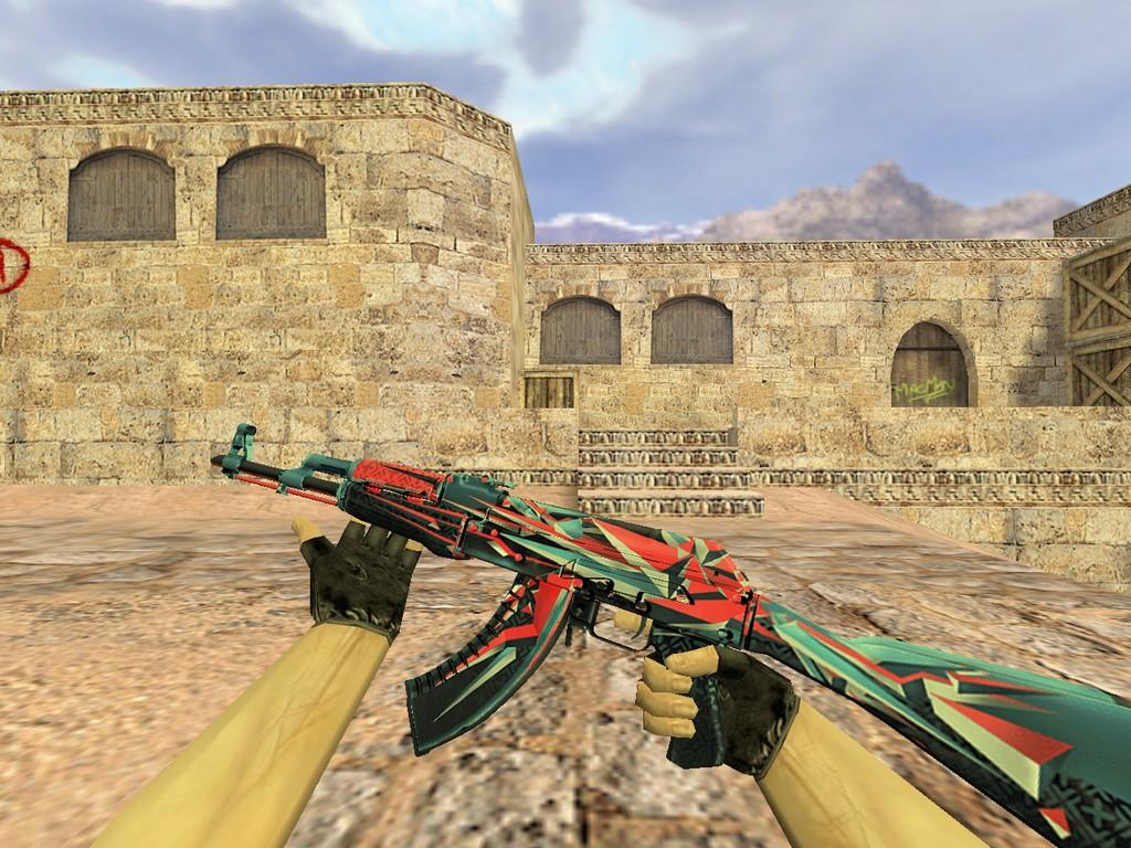 Скачать АК-47 Буйство красок
