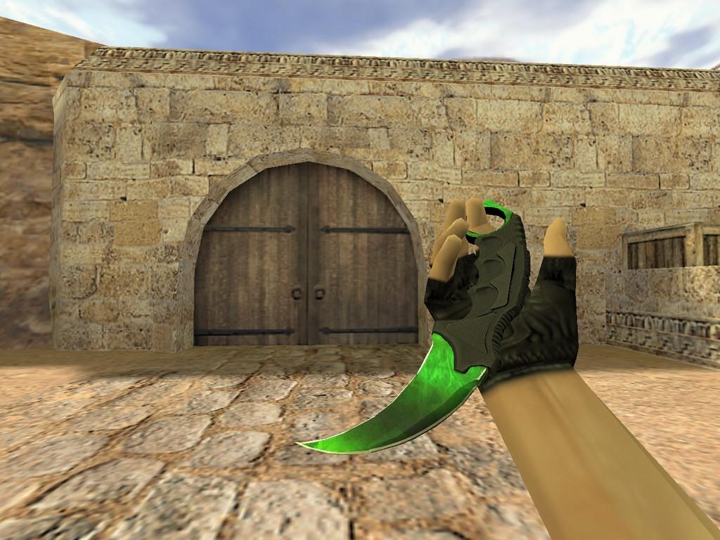 Скачать Нож Керамбит Гамма-волны