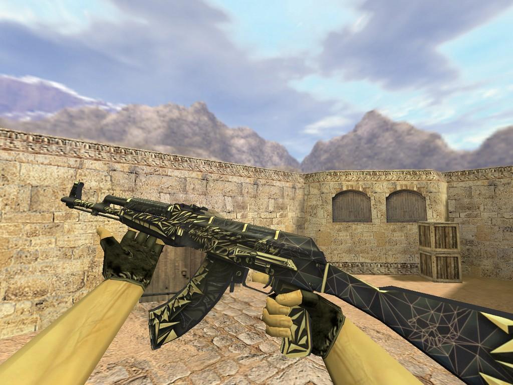Скачать АК-47 Киберпушка