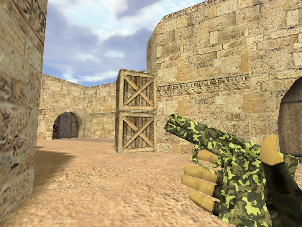 Скачать Glock Армейский камуфляж