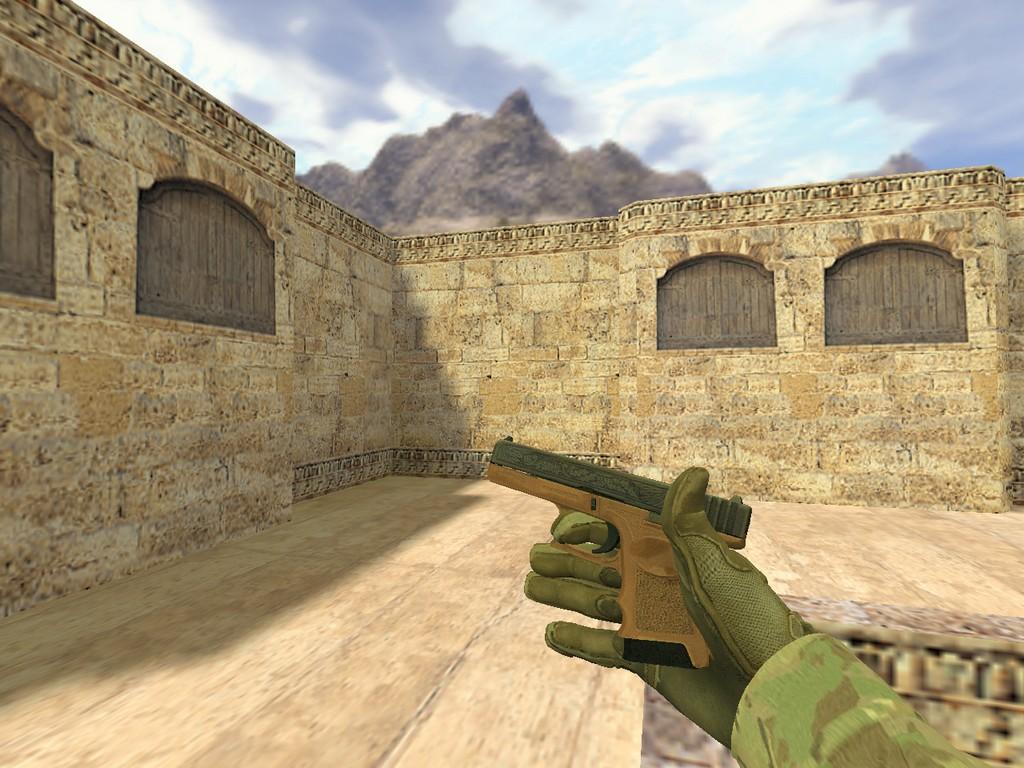 Скачать Glock Королевский легион для CS 1.6