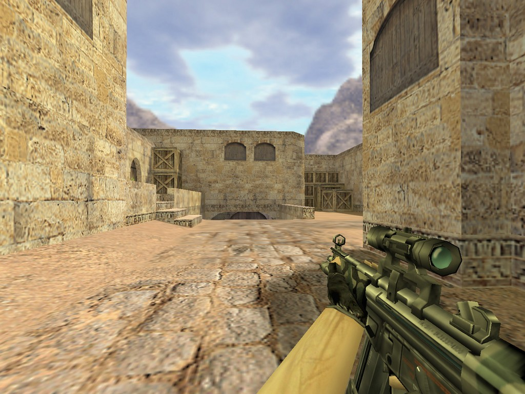 Скачать MP5 Камуфляж с оптикой